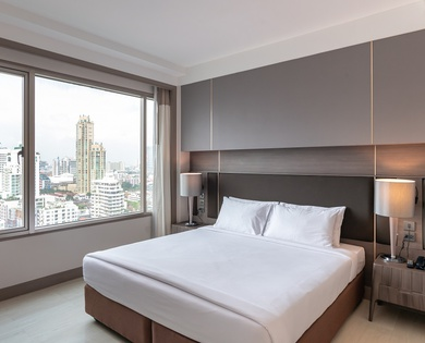 DELUXE 2 BEDROOM SUITES Jasmine 茉莉城市酒店 en 曼谷